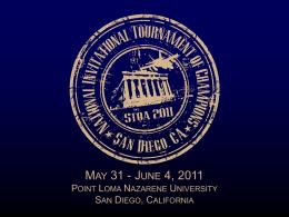 NITOC 2011 Tournament Awards Presentation