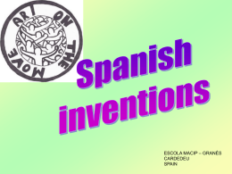 spanish inventions