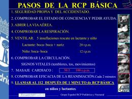 pasos de la rcp básica