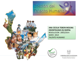 Diapositiva 1 - Secretaría Seccional de Salud y Protección Social