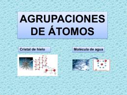 """Presentación """"Agrupaciones de átomos"""""""
