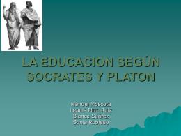 socrates y platon - Página de descargas de LAUDE Newton College