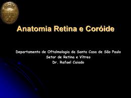 Anatomia e Fisiologia da Retina - Oftalmologia Dr. Rafael Caiado