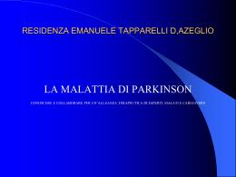Presentazione di PowerPoint - Residenza Emanuele Tapparelli D