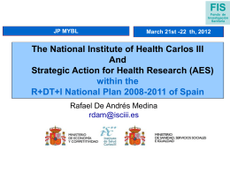 National Institute of Health Carlos III