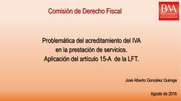 Comisión Derecho Fiscal
