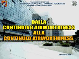 aeronavigabilità - Ministero della Difesa