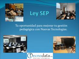 Ley SEP