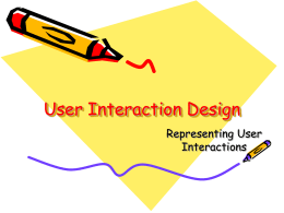 User Interface Representations