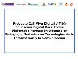 Concepciones y creencias - Educación Digital para Todos