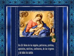 Reina de los ángeles, patriarcas, profetas