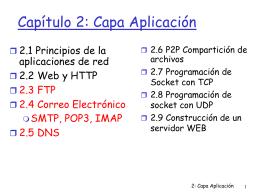FTP, Correo Electrónico, DNS