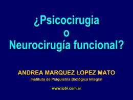 Psicocirugia - Psicologosclinicos.com