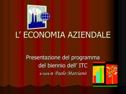 L`Economia Aziendale ( 159 Kb)