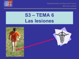 Lesiones Fisicas presentación Powerpoint