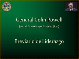 Las reglas de liderazgo de Colin Powell