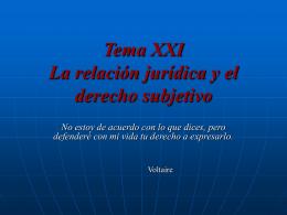 """Tema I """"El Derecho Civil"""""""