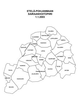 Epshp kuntakartta 2003 - Etelä
