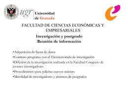 Acciones - Facultad de Ciencias Económicas y Empresariales