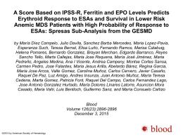 PPT - Blood Journal