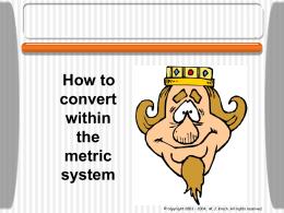 MetricConversionlittle2
