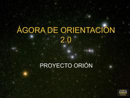 CUESTIONARIO ORIÓN