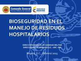bioseguridad en el manejo de residuos hospitalarios