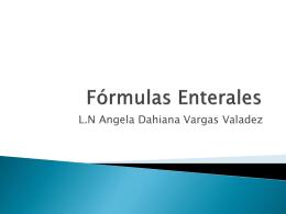 Fórmulas Enterales