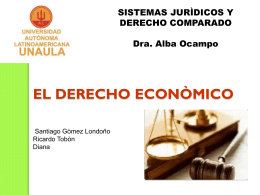 EL DERECHO ECONOMICO