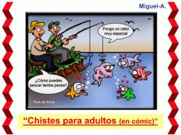 Chistes para adultos (en Comic)
