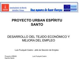 Línea estratégica 6: Empleo y desarrollo Económico