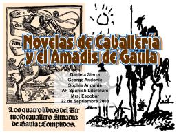 Novelas de caballería
